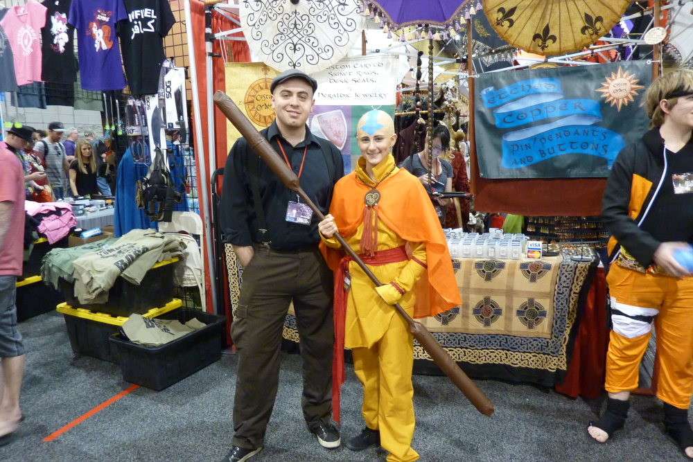how to make an aang costume