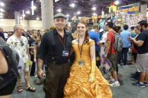 Belle from Disney's Beauty and the Beast.